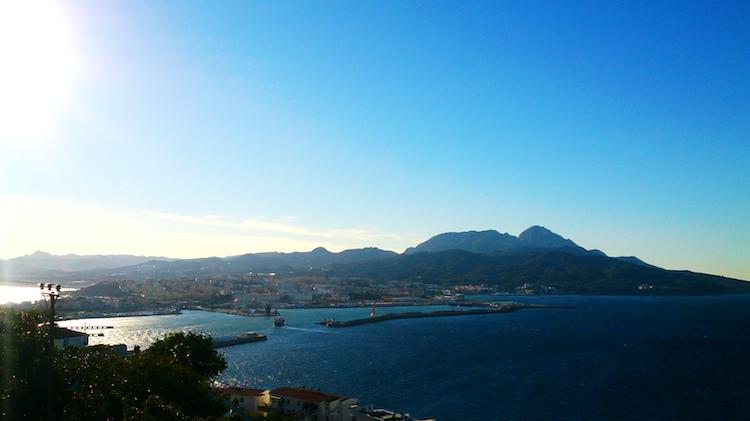 Ceuta Bay Spain