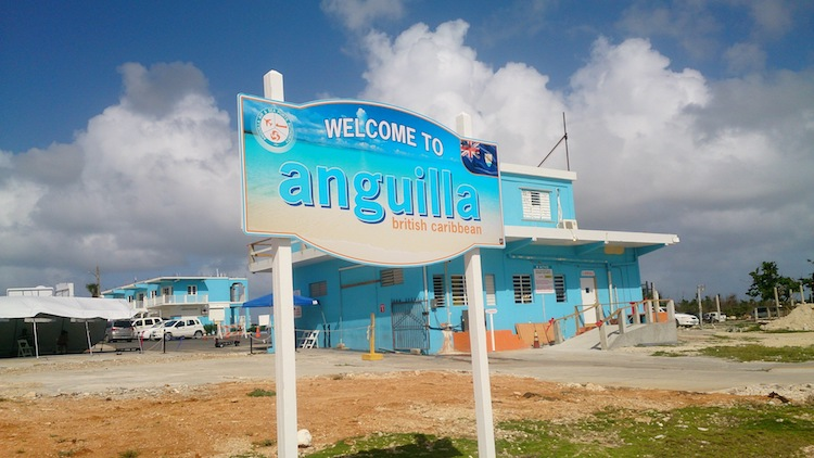 Welcome to Anguilla Sign