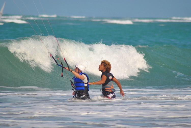 Learning Kitesurfing Cabarete 2