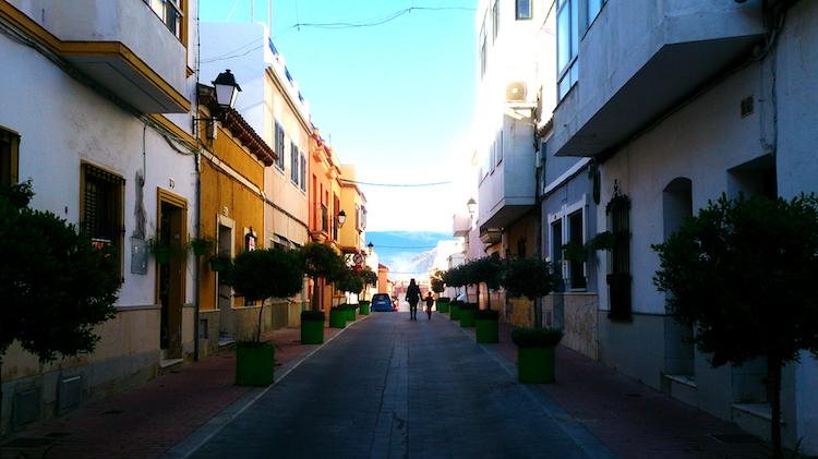 Algeciras Spain neighborhood San Isidro