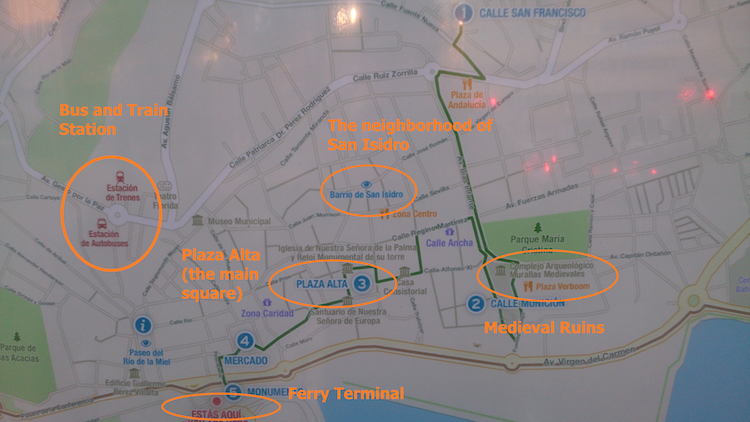 Algeciras what to do attractions map