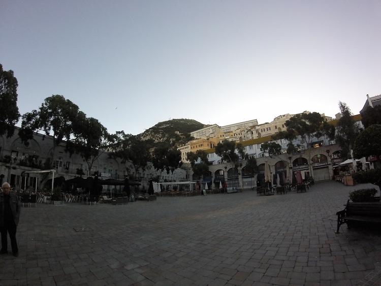 Gibraltar casemates square