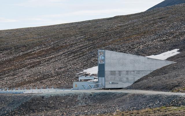 Svalbard Longyearbyen Norway Global Seed Doomsday Vault
