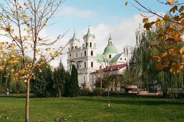 Grodno or Hrodna Belarus