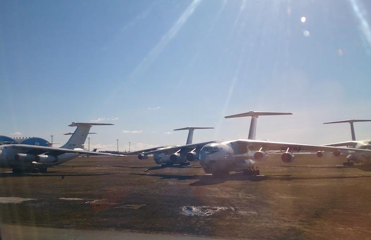 Ilyushin Il-76 in Belarus Airport