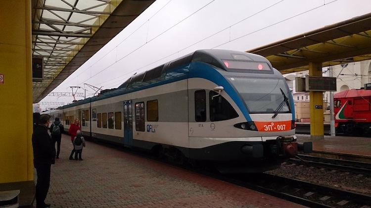 Modern Train Belarus