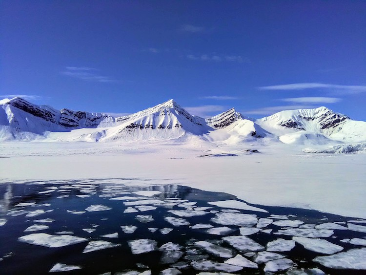 Glaciers in Svalbard 2