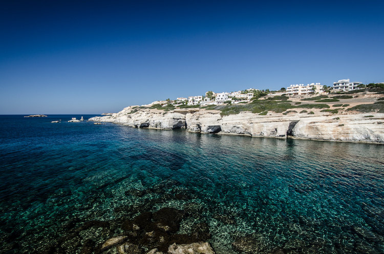 ayia napa sea caves cyprus