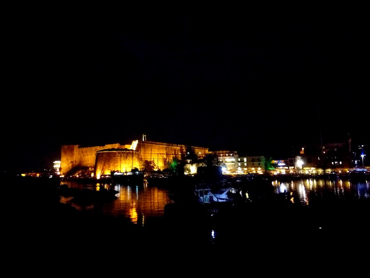 girne kyrenia cyprus harbor town center