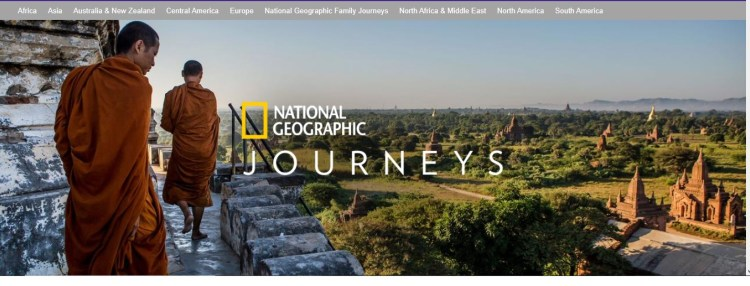 National geographic trips