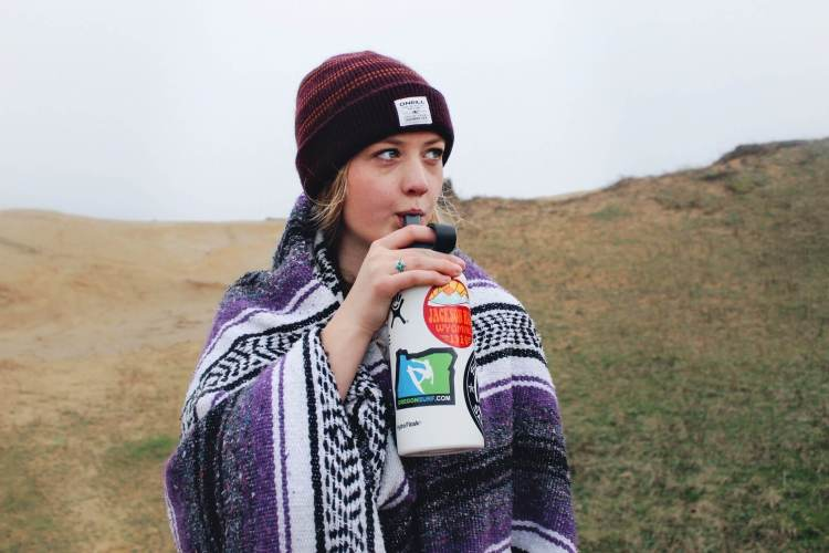 travel with your own water bottle