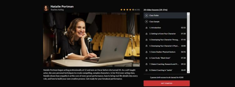 acting - online courses