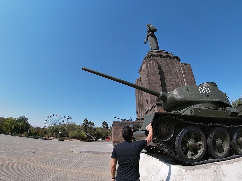 Victory Park & Mother Armenia Statue, Yerevan, Armenia