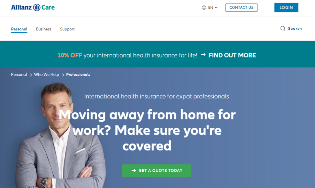 allianz care health insurance for immigrants and expats
