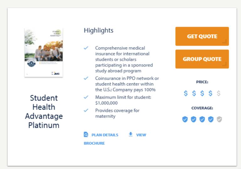 student health advantage platinum
