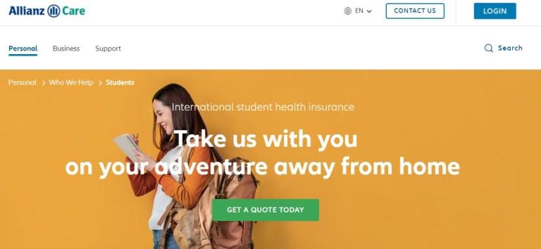 student health insurance allianz care