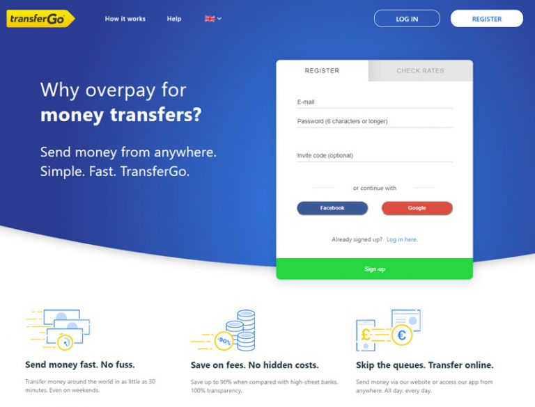 transfergo payment for freelancers and businesses